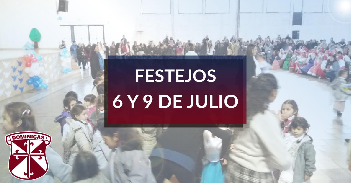 Festejos del 6 y 9 de Julio