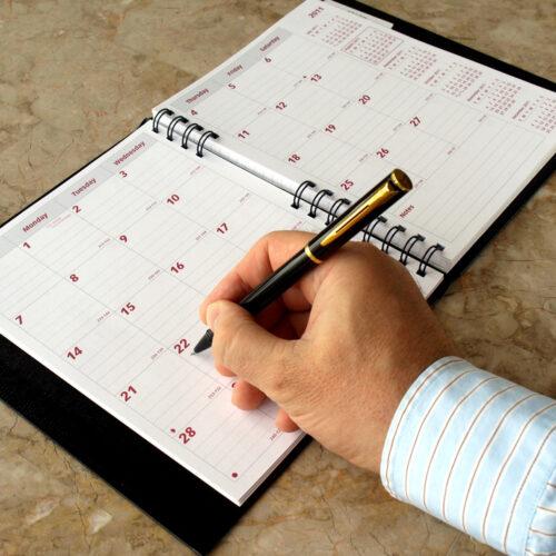 Tips para re-organizar el tiempo