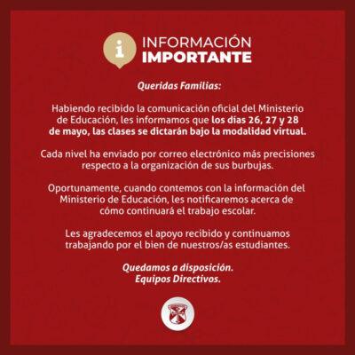 ⚠️ Información Importante ⚠️